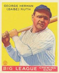 1933 Goudey Ruth