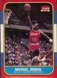 1986-87 Fleer Michael Jordan