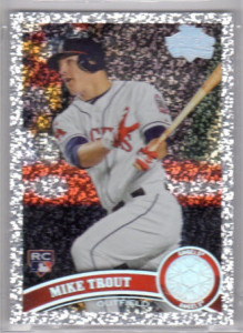 2011 Topps Diamond Mike Trout