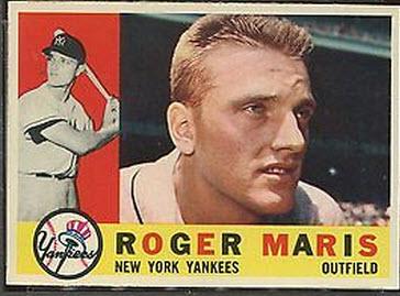 Roger Maris 1960 Topps