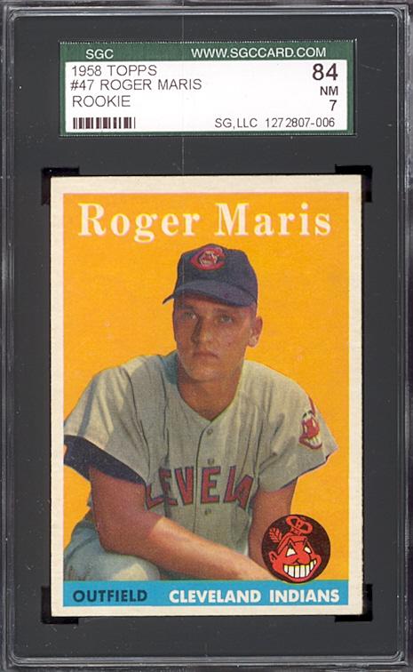 1958 Topps Roger Maris