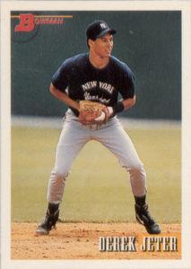Derek Jeter 1992 Bowman