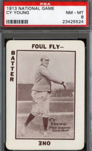 Cy Young 1913 National Game card