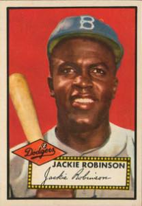 Jackie Robinson 1952 Topps