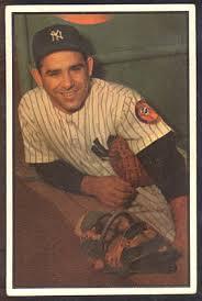 Yogi Berra 1953 Bowman