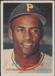 Roberto Clemente 1957 Topps