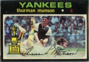 Thurman Munson 1971 Topps