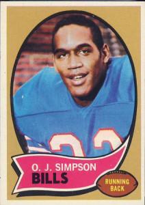 OJ Simpson rookie card
