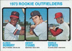 Dwight Evans 1973 Topps