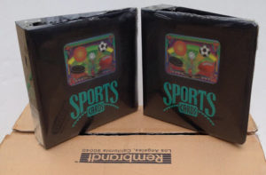 sports card albums d-ring