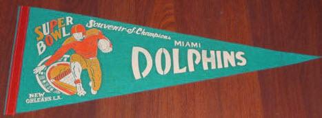 Super Bowl VI pennant
