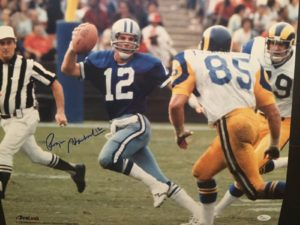 Autographed photo-Roger Staubach