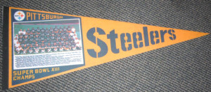 Super Bowl XIII penant Steelers