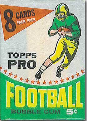 1964 Topps Football Set Ushered in New Age