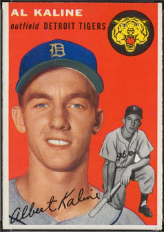 Al Kaline Baseball Cards:  6 to Capture His Career